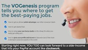 How VO Genesis Can Help You In Making Money